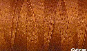 Brown - AURIFIL Cotton Thread - Solid 50 Wt - Copper