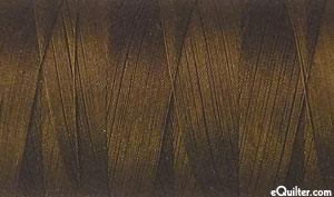 Brown - AURIFIL Cotton Thread - Solid 50 Wt - Chocolate