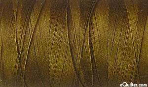 Brown - AURIFIL Cotton Thread - Solid 50 Wt - Dk Gold