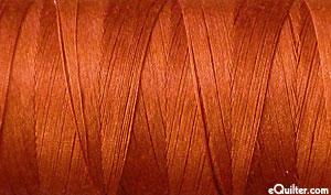 Brown - AURIFIL Cotton Thread - Solid 50 Wt - Terracotta