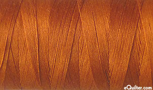 Gold - AURIFIL Cotton Thread - Solid 50 Wt Cinnamon Toast