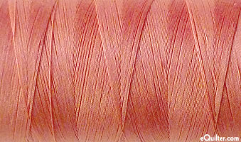 Pink - AURIFIL Cotton Thread - Solid 50 Wt - Peachy Pink