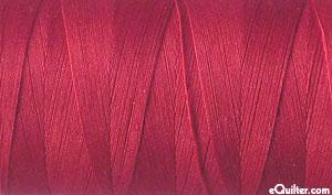 Red - AURIFIL Cotton Thread - Solid 50 Wt - Medium Carmine Red