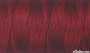 Burgundy - AURIFIL Cotton Thread - Solid 50 Wt - Dk Carmine Red