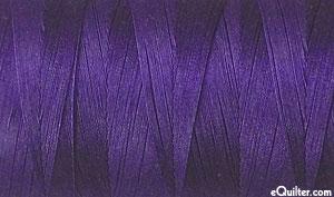 Purple - AURIFIL Cotton Thread - Solid 50 Wt - Dk Grape