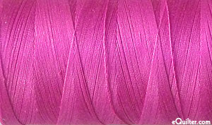 Purple - AURIFIL Cotton Thread - Solid 50 Wt - Lt Magenta