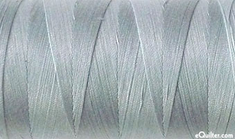 Gray - AURIFIL Cotton Thread - Solid 50 Wt - Gray Skies