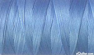 Blue - AURIFIL Cotton Thread - Solid 50 Wt - Lt Delft Blue