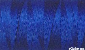 Blue - AURIFIL Cotton Thread - Solid 50 Wt - Dk Cobalt