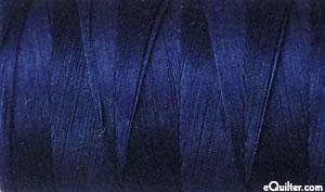 Blue - AURIFIL Cotton Thread - Solid 50 Wt - Midnight
