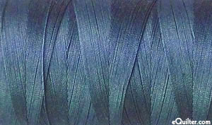 Blue - AURIFIL Cotton Thread - Solid 50 Wt - Steel