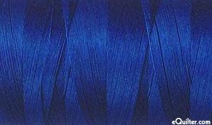 Blue - AURIFIL Cotton Thread - Solid 50 Wt - Dk Delft Blue