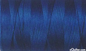 Blue - AURIFIL Cotton Thread - Solid 50 Wt - Md Delft Blue