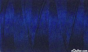 Blue - AURIFIL Cotton Thread - Solid 50 Wt - Dark Navy