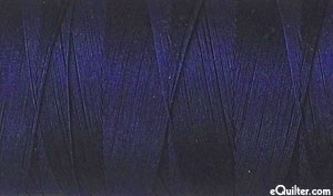 Blue - AURIFIL Cotton Thread - Solid 50 Wt - Very Dk Navy