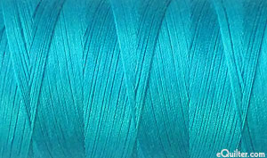 Turquoise - AURIFIL Cotton Thread - Solid 50 Wt - Turquoise