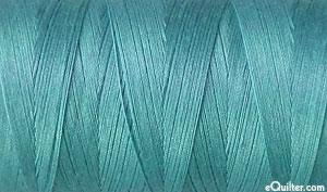 Blue - AURIFIL Cotton Thread - Solid 50 Wt - Teal Lagoon