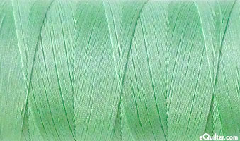 Green - AURIFIL Cotton Thread - Solid 50 Wt - Cool Mint