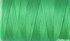 Green - AURIFIL Cotton Thread - Solid 50 Wt - Light Emerald