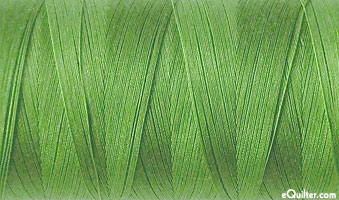 Green - AURIFIL Cotton Thread - Solid 50 Wt - Meadow Green