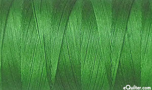Green - AURIFIL Cotton Thread - Solid 50 Wt - Kelly Green
