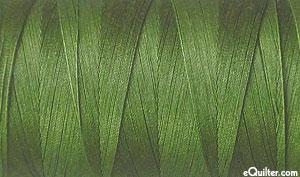 Green - AURIFIL Cotton Thread - Solid 50 Wt - Army Green