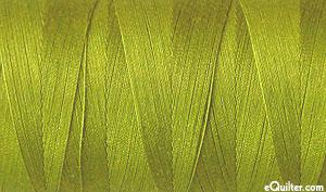 Green - AURIFIL Cotton Thread - Solid 50 Wt - Medium Olive