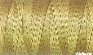 Gold - AURIFIL Cotton Thread - Solid 50 Wt - Pale Brass