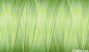 Variegated - AURIFIL Cotton Thread - 50 Wt - Lt Spring Green