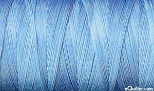 Variegated - AURIFIL Cotton Thread - 50 Wt - Stonewash Blue