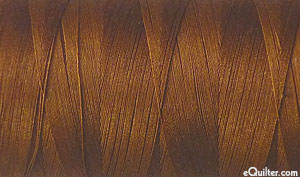 Brown - AURIFIL Cotton Thread - Solid 50 Wt - Copper Brown