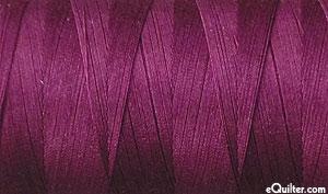 Purple - AURIFIL Cotton Thread - Solid - 50 Wt - Plum