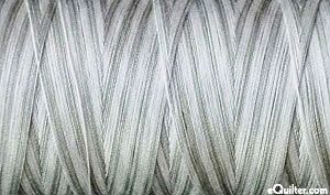 AURIFIL Cotton Thread Variegated - 50 Wt - 1422 Yds - Silver