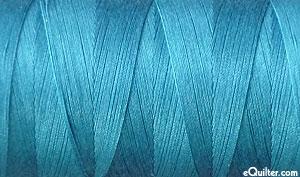 Turquoise - AURIFIL Cotton Thread - Solid - 50 Wt - Dk Turquoise