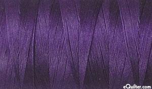 Purple - AURIFIL Cotton Thread - Solid 50 Wt - Eggplant