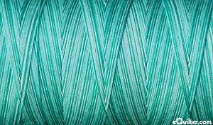 Variegated - AURIFIL Cotton Thread - 50 Wt - Sea Foam