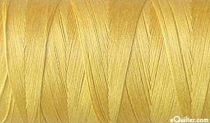 Yellow - AURIFIL Cotton Thread - Solid - 50 Wt - Ochre Yellow