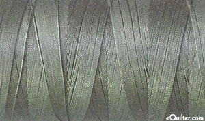 Gray - AURIFIL Cotton Thread - Solid - 50 Wt - Gray Smoke