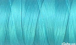 Turquoise -AURIFIL Cotton Thread - Solid - 50 Wt - Brt Turquoise
