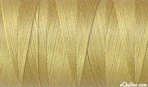 Gold - AURIFIL Cotton Thread - Solid - 50 Wt - Blond Beige