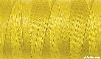 Yellow - AURIFIL Cotton Thread - Solid - 50 Wt - Curry Yellow