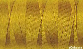 Yellow - AURIFIL Cotton Thread - Solid - 50 Wt - Mustard