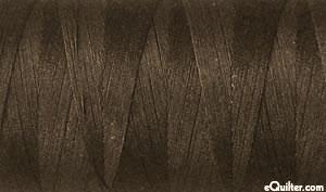 Brown - AURIFIL Cotton Thread - Solid 50 Wt - Dark Brown