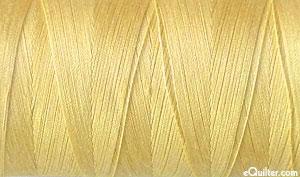 Yellow - AURIFIL Cotton Thread - Solid 50 Wt - Light Caramel