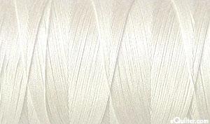 Cream - AURIFIL Cotton Thread - Solid 50 Wt - Whitewash