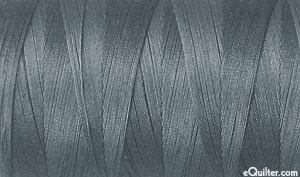 Gray - AURIFIL Cotton Thread - Solid - 50 Wt - Jedi Gray