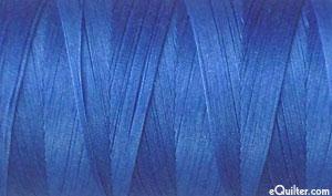 Blue - AURIFIL Cotton Thread - Solid - 50 Wt - Peacock Blue