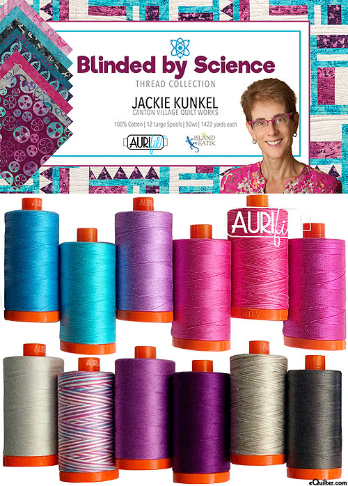 Blinded By Science - Aurifil Thread Set