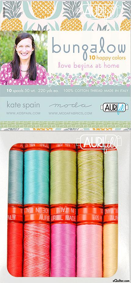 Kate Spain - Bungalow - Aurifil Thread Set