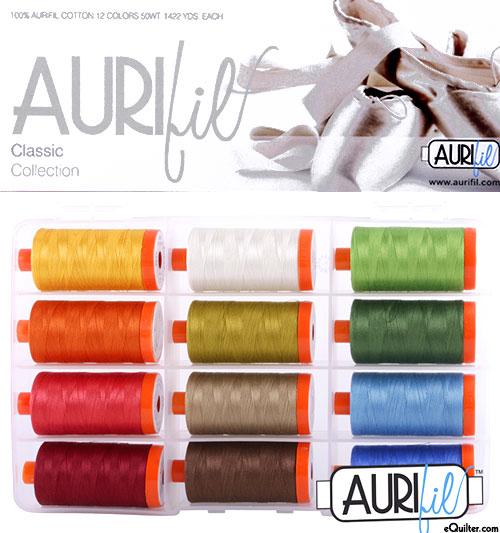 The Classic Collection - Aurifil Thread Set